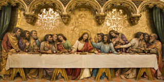 christ super ostatni obrazy royalty free