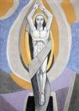 christ uppståndelse Arkivbild