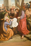 Christ and Veronica - paint Royalty Free Stock Photo