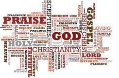 Christ-Wolke Lizenzfreies Stockfoto