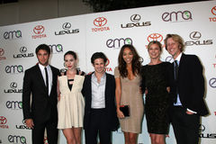 Christa B Allen, Christa B. Allen, Connor Paolo, Joshua Bowman, Ashley Madekwe Stock Image