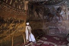 Free Christain Priest In Abuna Yemata Church In Ethiopia Royalty Free Stock Photos - 113647048