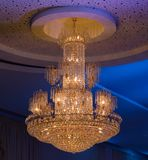 Christal Chandelier Stock Photography