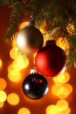 Christamas balls Royalty Free Stock Images