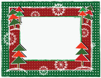 Christamas frame Royalty Free Stock Photos