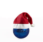 Christams ball hat Royalty Free Stock Images