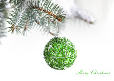 Christams decoration ball Royalty Free Stock Image