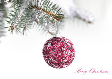 Christams decoration ball Royalty Free Stock Images