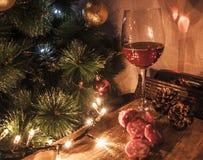 Christams del vino Imagenes de archivo