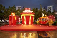 Christams i nowy rok dekoracja Zdjęcie Royalty Free