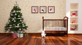 Christams-Kindertagesstätte. Stockbilder