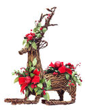 Christams Raindeer Decoration Royalty Free Stock Images
