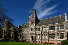 The Christchurch Art Centre. Stock Images