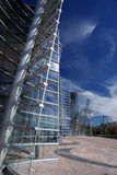 Christchurch Art Gallery. Exterior of Christchurch Art Gallery Te Puna o Waiwhetu with blue sky and cloudscape background, South Island, New Zealand Royalty Free Stock Image