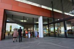 Christchurch-Bus-Austausch - Neuseeland Lizenzfreies Stockbild