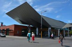 Christchurch-Bus-Austausch - Neuseeland Lizenzfreie Stockfotos