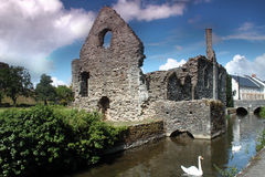Christchurch Castle Royalty Free Stock Images