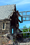 ChristChurch Cathedral in Christchurch - New Zealand Royalty Free Stock Photography