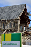 ChristChurch Cathedral in Christchurch - New Zealand Royalty Free Stock Photos