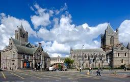 Christchurch Cathedral. Dublin, Ireland. August 18, 2015. Christchurch Cathedral on a summers day Stock Image