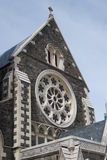 Christchurch Cathedral before earthquake Royalty Free Stock Images