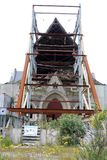 Christchurch Cathedral, earthquake damage, Royalty Free Stock Photo
