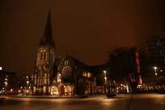 Christchurch cathedral Stock Image