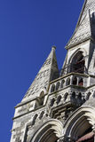 Christchurch Cathedral. In 2009 prior to the Earthquake which destroyed this cathedral Royalty Free Stock Photography