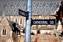 Christchurch Cathedral Stock Photos