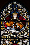 Christchurch Cathedral Stained Glass Window Royalty Free Stock Image