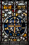 Christchurch Cathedral Stained Glass Window Royalty Free Stock Images
