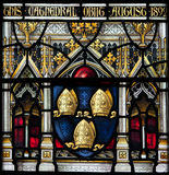 Christchurch Cathedral Stained Glass Window Royalty Free Stock Photo