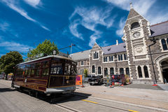 Christchurch centrum miasta Obrazy Royalty Free