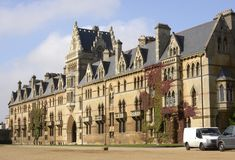 Christchurch College. Oxford. England Royalty Free Stock Photography