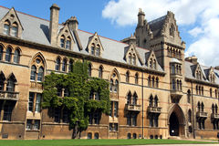 christchurch college university oksfordzie Fotografia Stock