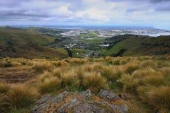 Christchurch dall'orlo scenico Fotografie Stock Libere da Diritti