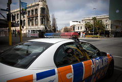 Christchurch earthquake Stock Image