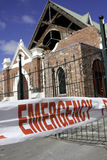 Christchurch earthquake 4 Sep 2010 Stock Photos