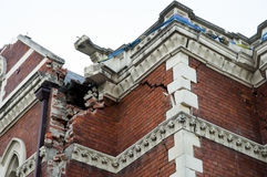 Christchurch Earthquake 2011 - New Zealand Stock Image