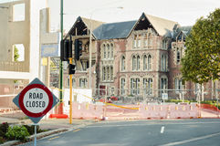 Christchurch Earthquake 2011 - New Zealand Royalty Free Stock Images