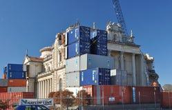 Christchurch-Erdbeben - Kathedrale-Wiederherstellung Stockbilder