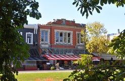 Christchurch-Erdbeben - leeren Sie Streifen Lizenzfreies Stockbild