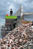 Christchurch-Erdbeben Riccarton, Neuseeland Lizenzfreie Stockbilder