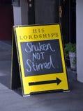 Christchurch-Erdbeben - seine Lordschaft Stockbild