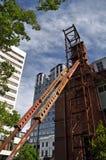 Christchurch-Erdbeben - städtische Räume Lizenzfreie Stockfotografie