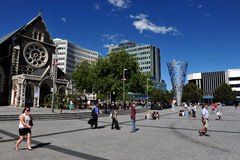 Christchurch - New Zealand Stock Images