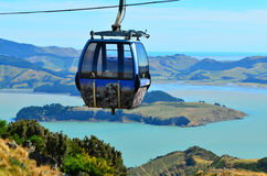 Christchurch gondol - Nya Zeeland Royaltyfri Foto