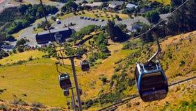 Christchurch gondol - Nya Zeeland Fotografering för Bildbyråer