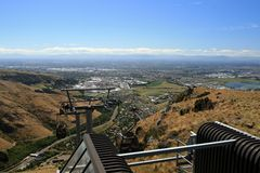 The Christchurch Gondola, New Zealand Stock Image