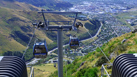 Christchurch Gondola - New Zealand Royalty Free Stock Photo
